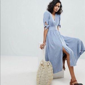 Love of my life free people blue midi dress